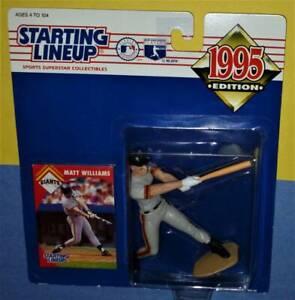 1995 MATT WILLIAMS San Francisco Giants NM *FREE_s/h* Starting Lineup