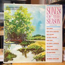 [ROCK/POP]~[VARIOUS ARTISTS]~VG+ LP~SONGS OF THE SEASON; SUMMERTIME~[1961]