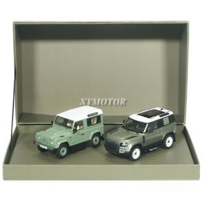 Almost Real 1/43 Land Rover Defender 90 Double car suit Diecast Car Model Gifts