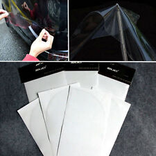 4pcs 24*10cm Car Bumper Corners Anti Scratch Protector Invisible Films Anti-rub
