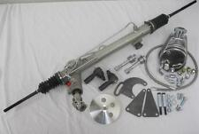 NEW Mustang II 2 Power Steering Rack Pinion Kit w Tie Rods Pump Bracket Hoses ++