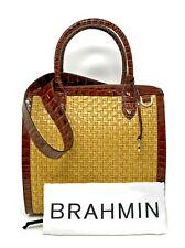 749034331253 Brahmin Caroline Satchel Natural Beige Chatham Handbag