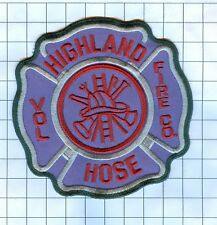Fire Patch - HIGHLAND HOSE