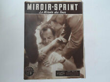 *Rare Vintage 1950s 'MIROIR-SPRINT' - French Cycling Magazine - 19 July 1954*