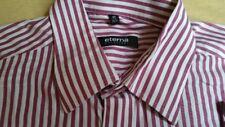 U480 ETERNA Classic Fit Hemd 40  Dunkelrosa Weiß Gestreift Sehr gut