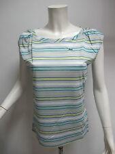 LACOSTE t-shirt donna manica corta art.TF6327 col.BIANCO/VERDINO tg.48 est.2011
