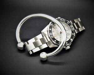 "Men's Gents Heavy Solid 925 Sterling Silver Open ""Ball Torque"" Bangle Bracelet"