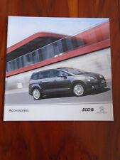 Peugeot 5008 Accessories range brochure Nov 2012