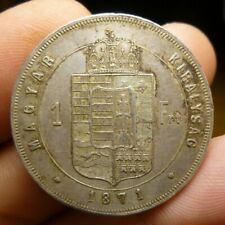 Hungary 1871 KB Silver Forint