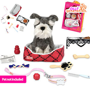 NEW OUR GENERATION Doll - PET CARE PLAY SET Accessory 46cm/18inch American Girl