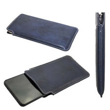 caseroxx Business-Line Case voor HTC Wildfire X in blue gemaakt van faux leather