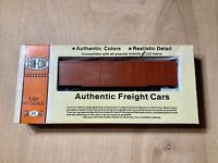Ho Scale Con-Cor Box Car Kit Undecorated New Open Box