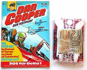 DAN COOPER   Nr.  1   mit Beilage Flugzeug-Bausatz   Bastei   Z1-2