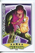 Marvel Hero Attax Series 1 Base Card #200 Pumpkin Bombs [Green Goblin]