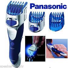Panasonic Beard Trimmer Hair Clipper Mens Cordless 10 Adjust Wet Dry ER-GS60-S