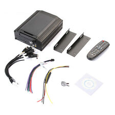 """4Ch Channel CCTV Vehicle Car Video Recorder HD DVR Mobile Support 2.5"""" Sata HDD"""