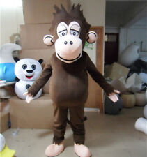 Brown Gorilla Mascot Costume Monkey Parade Animal Party Fancy Dress Suit Cosplay