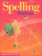 Grade 1 MCP Spelling Workout Level A Student Book 1st Modern Curriculum Press