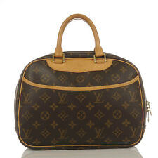 Authentic Louis Vuitton Monogram Trouville Handbag