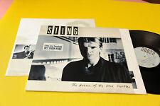 STING LP THE DREAM.....ORIG GERMANY 1985 EX INNER E INSERTO !!!!!!!!!