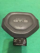 1987 Toyota Celica GTS Horn Cap. With Cruise Control. Very Nice. Gray.