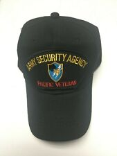 Us Army Security Agency Pacific Veteran Military Hat / Cap