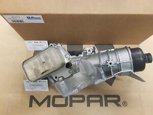 Engine Oil Cooler Assembly Jeep Wrangler JK 2.8CRD 2007-2018 Mopar 68341976AA