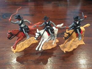 "Timpo Mexican Bandits - Black ""Ten Gallon"" Bandit Hats - Wild West"