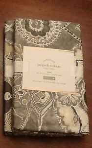 Pottery Barn JACQUELYN Sham, Size Standard, set of Two New W/ $39.50, Each