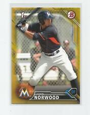 2016  Bowman  JOHN NORWOOD  Gold  39/50