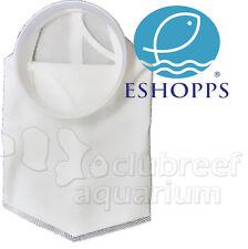 """200 Micron Felt Aquarium Sump Filter Bag Sock 7"""" Diameter Round Ring Eshopps"""