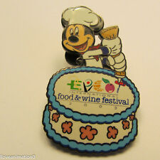 Disney Epcot Food & Wine Festival Mickey Mouse Annual Passholder Pin