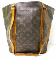 Louis Vuitton Sac Shopping Shoulder Tote Hand bag Purse Auth