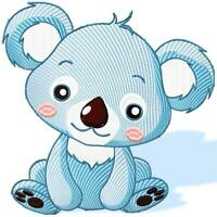 CUTIES NO 2 12  10 MACHINE EMBROIDERY DESIGNS CD or USB