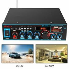 Multi-channels Home And Car Audios Stereo Amplifiers Sub-woofer Sound System New