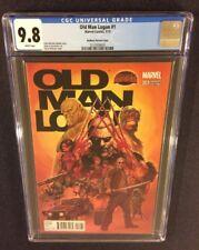 OLD MAN LOGAN #1 Comic Book 1:25 RI Variant McNiven CGC 9.8 Marvel Secret Wars