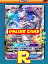 Mewtwo GX - Regular Art - for Pokemon TCG Online (DIGITAL ptcgo in Game Card)