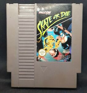 Skate or Die - Nintendo NES Game - PAL Version Palcom