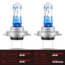 H7 SUPER white Headlight Halogen light Bulbs 477 12V 55W PX26d (2 units)UK STOCK