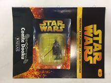 star wars figurine en plomb comte dooku n12/60 neuve blister fascicule atlas