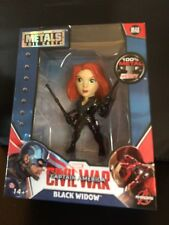 "MARVEL CAPTAIN AMERICA CIVIL WAR HEAVY MEDAL COLLECTIBLE  FIGURE ""BLACK WIDOW"""