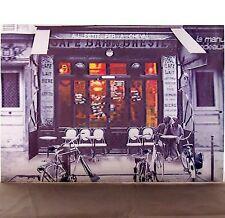 3 D Effekt Bild Bilder Poster Wandbild Paris Cafe Bar Liebespaar café    C