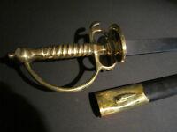 Antique Style French Cutlass Hanger Sword French Indian War & Rev War