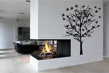 Birds in tree    vinyl wall decal