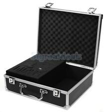 Tattoo Piercing Equipment Kit Carry Case Box Storage Machine Gun Supply Aluminum