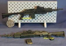 Hot Toys 1:6 Action Figure Gun Rifle Firearms 4 M14 EBR + M4 STOCK Gun_HT_9