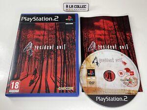 Resident Evil 4 - Jeu Sony Playstation 2 PS2 (FR) - PAL - Complet
