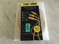 XLO Electric VDO ER-1C  3 meter Coaxial Video Cable RCA to RCA Connectors