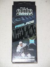 "New Elite Hockey Prolace Hockey Laces (120"") Black White"