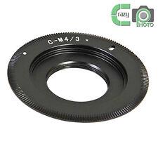 C-M4/3 Black Magic C Mount TV Lens to BMPCC Adapter MFT Micro 4/3 Camera Slim